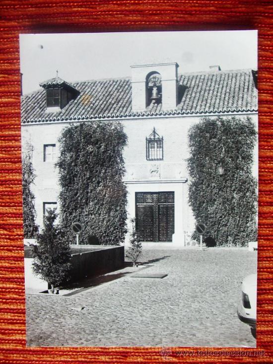 1984 - PARADOR NACIONAL DE ALMAGRO. CIUDAD REAL. FOTOGRAFÍA ORIGINAL GRANDE (Fotografía Antigua - Fotomecánica)