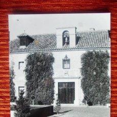 Fotografía antigua: 1984 - PARADOR NACIONAL DE ALMAGRO. CIUDAD REAL. FOTOGRAFÍA ORIGINAL GRANDE. Lote 37968466