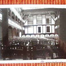 Fotografía antigua: 1984 - INTERIOR CORRAL DE COMEDIAS DE ALMAGRO. CIUDAD REAL. FOTOGRAFÍA ORIGINAL GRANDE. Lote 37968495