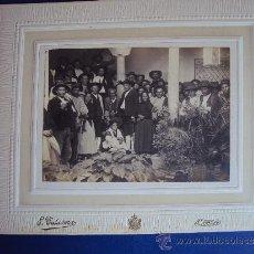 Fotografía antigua: (FOT-204)FOTOGRAFIA DE LA VISITA DEL MARQUES DE FORONDA EN UBEDA(JAEN)INAGURACION. Lote 38170014