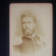 Fotografía antigua: 1860C-LEOPOLDO DE HOHENZOLLERN.CANDIDATO A REINAR ESPAÑA DESPUÉS D ISABEL II.PROPUESTA GENERAL PRIM. Lote 38447309