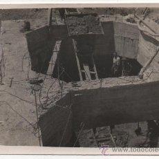 Fotografía antigua: CORDOBA,1950,EXCAVACION EN PILARES DE PUENTE SOBRE EL GUADALQUIVIR,119X80MM. Lote 38461097
