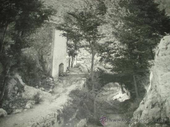 Fotografía antigua: Antigua Fotografia del Barranco LOS MOLINOS de IBI Año 1950-60s Tamaño Gigante Panoramico 101X66 cm - Foto 4 - 38585020
