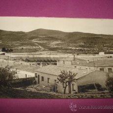 Fotografía antigua: ANTIGUA FOTOGRAFIA DEL CAMPO DE FUTBOL DE LA PILETA DE IBI DEL AÑO 1960S... Lote 38677826