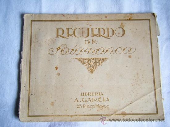 SALAMANCA - 1927 - FOTOGRAFIAS ANTIGUAS - 20 X 25 (Fotografía Antigua - Fotomecánica)