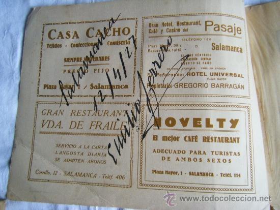 Fotografía antigua: SALAMANCA - 1927 - FOTOGRAFIAS ANTIGUAS - 20 X 25 - Foto 5 - 38707903