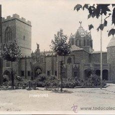 Fotografía antigua: SEVILLA, 1929,PABELLON DE CASTILLA Y LEON, INAUGURACION EXPOSICION UNIVERSAL,FOT.SERRANO,175X125MM. Lote 38717541