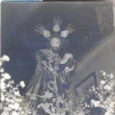 Fotografía antigua: ALCALA DE LOS GAZULES,1965,NTRO PADRE JESUS NAZARENO,76X52MM. Lote 38730879