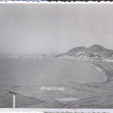 Fotografía antigua: MALAGA,1958,VISTAS DESDE TERRAZA BAÑOS DEL CARMEN,100X70MM. Lote 38734216
