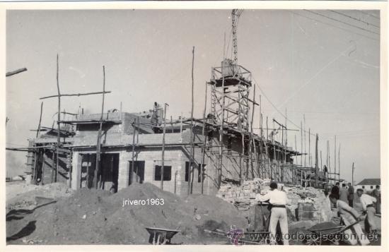 Utrera sevilla 1954 construccion de silo ve comprar fotograf a antigua fotomec nica en - Ver el tiempo en utrera ...