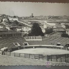 Fotografía antigua: ANTIGUA FOTOGRAFIA PLAZA DE TOROS DE CUELLAR SEGOVIA. Lote 38843582