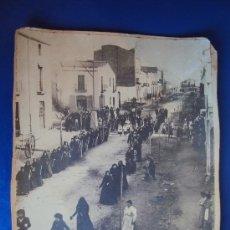 Fotografía antigua: (FOT-124)FOTOGRAFIA DE MOLLET DEL VALLES-PROCESION DEL CORPUS(22X28CM.),ARCHIVO ROS I SALLENT Y VIÇ. Lote 39001898