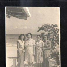 Fotografía antigua: CUBA. FOTOGRAFIA DE VARADERO. VERANO DE 1945. 12 X 18CM.. Lote 39274638