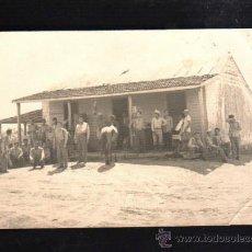 Fotografía antigua: CUBA. FOTOGRAFIA DE GRUPO DE MILICIANOS. 15 X 10CM.. Lote 39275063