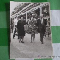 Fotografía antigua: ANTIGUA FOTOGRAFIA,FERIA DE ABRIL,SEVILLA,1968. Lote 39170655