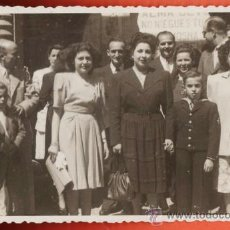 Fotografía antigua: FOTOGRAFIA ++ ¿ LA RECONOCE ? ++ FAMILIAR DE COMUNION - SIN + DATOS - AÑOS 50 - . Lote 39288494