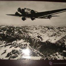 Fotografía antigua: JUNKERS JU 52/3 SOBREVOLANDO LOS ANDES. Lote 39298108