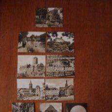 Fotografía antigua: COLECCIÓN DE 10 ANTIGUAS FOTOS DE LA CIUDAD DE EISENACH, EN TURINGIA, ALEMANIA. Lote 39332862