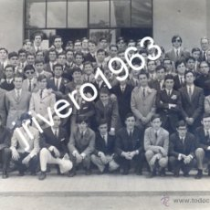 Fotografía antigua: SEVILLA, COLEGIO PORTACELI, PROMOCION 1969, PREU-C,MAGNIFICA 24X16,5CMS. Lote 39446161