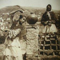 Fotografia antiga: GITANA BAILANDO.DEL LIBRO DAS UNBEKANNTE SPANIEN.BERLIN 1922.15X21. Lote 39468053
