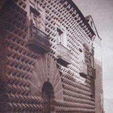 Fotografía antigua: SEGOVIA .CASA DE LOS PICOS DEL LIBRO DAS UNBEKANNTE SPANIEN.BERLIN 1922.15X21. Lote 39482394