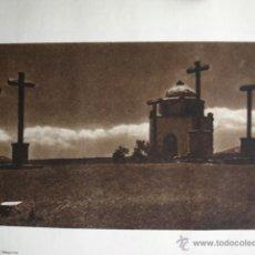 Fotografía antigua: SEGOVIA .CALVARIO DEL LIBRO DAS UNBEKANNTE SPANIEN.BERLIN 1922.15X21. Lote 39482397