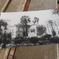 Fotografía antigua: FOTO PLAZA DEL ARENAL JEREZ DE LA FRONTERA . Lote 39513579