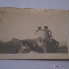 Fotografía antigua: ANTIGUA FOTOGRAFIA GRUPO DE MUJERES,AÑOS 30. Lote 39798919