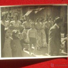 Alte Fotografie - VALENCIA FALLAS. FOTOGRAFIA FALLERAS - 39887390