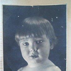 Fotografía antigua: FOTO NIÑA. C. 1920. Lote 39981183