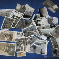 Fotografía antigua: LOTE CON 89 FOTOGRAFIAS ANTIGUAS - PAISAJES - PUEBLOS - PERSONAS ETC. - ADICIONALES. Lote 40071786