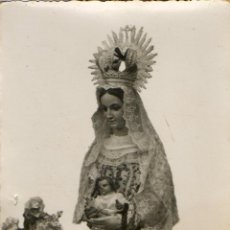 Fotografía antigua: FOTOGRAFIA ANTIGUA DE VIRGEN DE TENTUDIA-PATRONA DE CALERA DE LEON- BADAJOZ. Lote 40139332