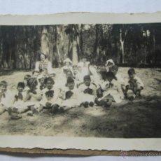 Fotografía antigua: GRUPO NIÑOS DE ESCUELA - GROUP OF SCHOOL CHILDREN - GROUPE DES ÉLÈVES. Lote 40170262