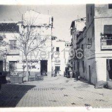 Fotografía antigua: SEVILLA,1940, PLAZA DE LA ALFALFA, UNA PRECIOSIDAD,FOT.SANCHEZ DEL PANDO,175X125MM. Lote 40379230
