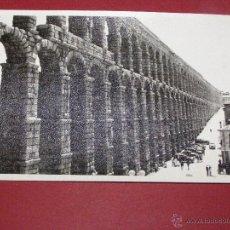 Fotografía antigua: ANTIGUA FOTOGRAFIA -ACEDUCTO DE SEGOVIA -. Lote 40477732