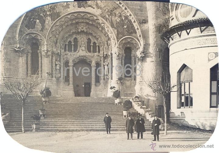 LOTE DE 6 FOTOGRAFIAS DEL TIBIDABO, 1923,98X68MM (Fotografía Antigua - Fotomecánica)