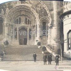 Fotografía antigua: LOTE DE 6 FOTOGRAFIAS DEL TIBIDABO, 1923,98X68MM. Lote 40619930