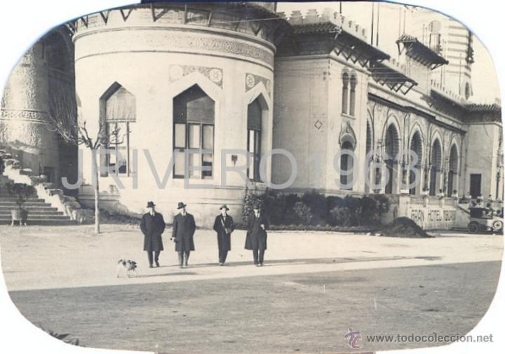 Fotografía antigua: LOTE DE 6 FOTOGRAFIAS DEL TIBIDABO, 1923,98X68MM - Foto 2 - 40619930