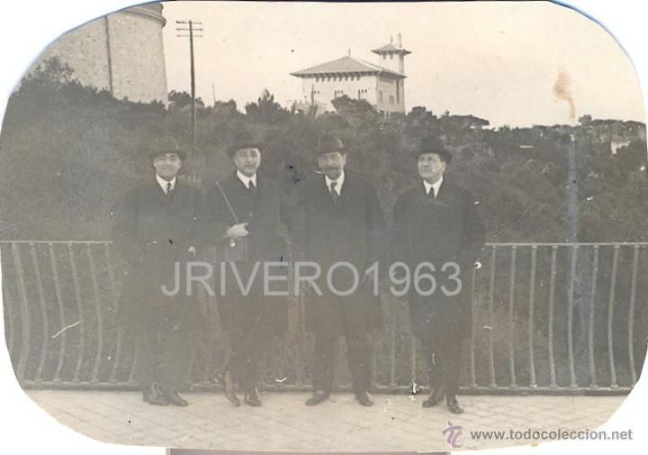 Fotografía antigua: LOTE DE 6 FOTOGRAFIAS DEL TIBIDABO, 1923,98X68MM - Foto 3 - 40619930