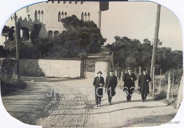 Fotografía antigua: LOTE DE 6 FOTOGRAFIAS DEL TIBIDABO, 1923,98X68MM - Foto 4 - 40619930