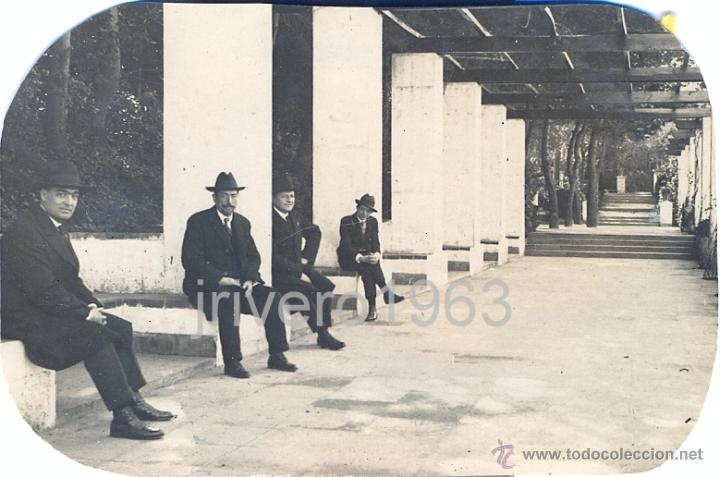 Fotografía antigua: LOTE DE 6 FOTOGRAFIAS DEL TIBIDABO, 1923,98X68MM - Foto 6 - 40619930
