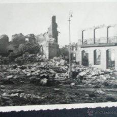 Fotografía antigua: 1937-BOMBARDEO LEGIÓN CÓNDOR. MADRID? GUERRA CIVIL ESPAÑA. FOTO ORIGINAL. Lote 40650347
