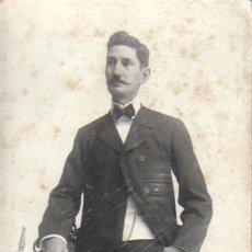 Fotografía antigua: FOTOGRAFIA CARTON DURO - DEL FOTOGRAFO BONANI - ESCRITA. Lote 40940354