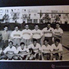 Fotografía antigua: ANTIGUA FOTOGRAFÍA - EQUIPO DE FUTBOL - 13 DE NOVIENBRE DE 1955 - COLONIA DE LA CONCEPCIÓN -. Lote 41197827