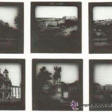 Fotografía antigua: MADRID 8 PLACAS DE LINTERNA MAGICA RARA COLECCION ALEMANA DE PPIOS DEL SIGLO XX . Lote 41249978