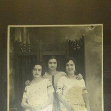 Fotografía antigua: ANTIGUA FOTOGRAFIA TARJETA POSTAL IBAÑEZ GANDIA VALENCIA. Lote 41290031