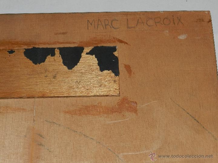Fotografía antigua: M) SALVADOR DALI - FOTOGRAFIA ORIGINAL DE MARC LACROIX , FOTOGRAFIA MONTADA SOBRE MADERA, 605X50 CM - Foto 7 - 41339522