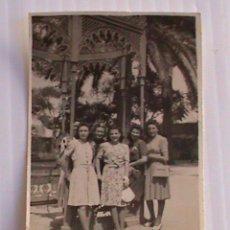 Fotografía antigua: GRUPO DE AMIGAS. JEREZ, AÑO 42 . 4,5 X 6,5 CM. Lote 41429113