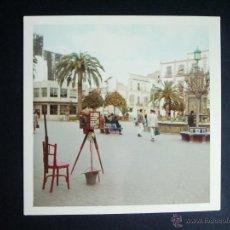 Fotografía antigua: 1968- PLAZA. ALGECIRAS. CÁDIZ. FOTOGRAFIA ORIGINAL. Lote 41532011