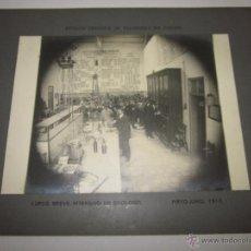 Fotografía antigua: VILAFRANCA DEL PANADES - ESTACION ENOLOGICAA-FOTO MIDE 17X23 CM.CARTON 25X31 CM.-(F-549). Lote 41533248
